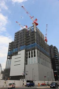 (仮称)北新宿地区 再開発計画 業務棟