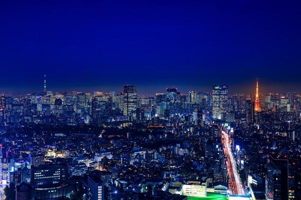 渋谷スカイから見た夜景