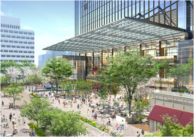日本橋室町三丁目地区第一種市街地再開発事業A地区 完成予想図