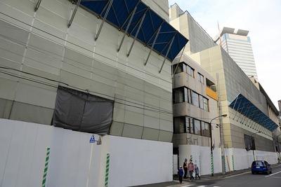 赤坂一丁目地区第一種市街地再開発事業の既存建物解体工事