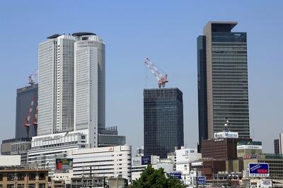 名古屋駅周辺の超高層ビル群