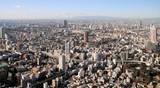 東京タワーの南西側の眺め