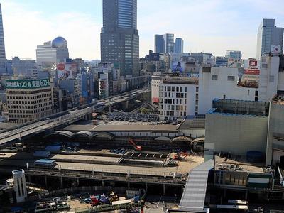 渋谷駅地区駅街区開発計画 東棟