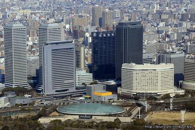 OBP(大阪ビジネスパーク)の超高層ビル群