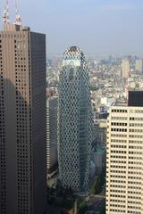 都庁からモード学園コクーンタワー