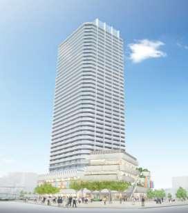 十条駅西口地区第一種市街地再開発事業 イメージパース