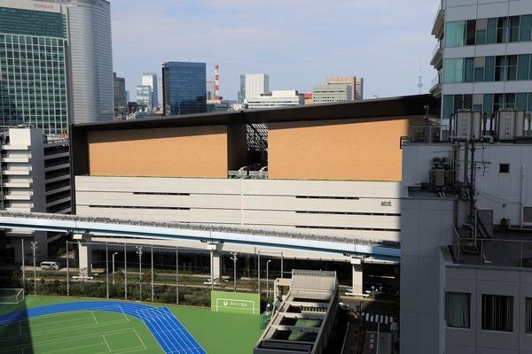 東京ポートシティ竹芝オフィスタワー オフィスロビーからの眺め