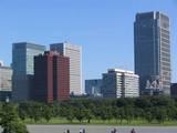 2004年10月17日 皇居から丸ビル方面
