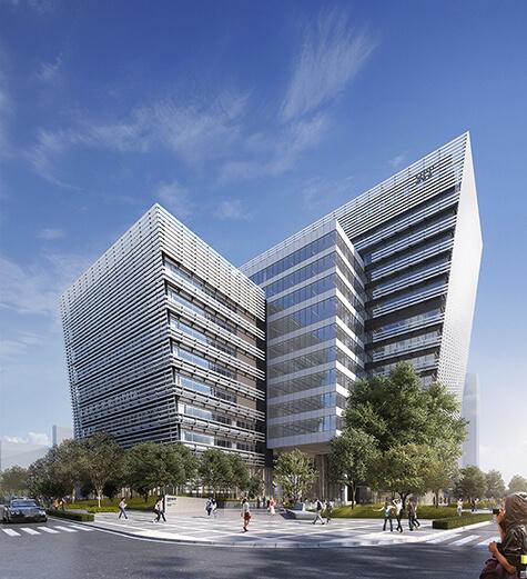 芝浦工業大学 豊洲第二校舎 外観イメージ図