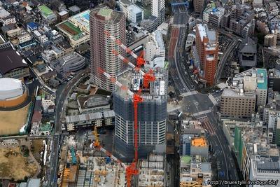 富久クロス(Tomihisa Cross)の空撮