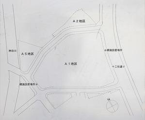 西新宿五丁目中央北地区第一種市街地再開発事業 街区図