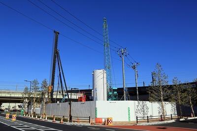 (仮称)武蔵浦和駅第1街区第一種市街地再開発事業 B3-1棟新築工事