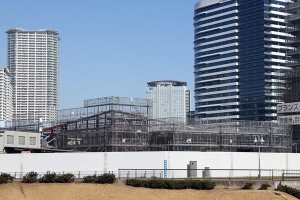 豊洲地区1-1街区開発計画 商業施設棟