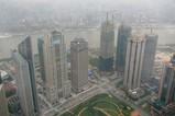 浦東新区の超高層ビル群