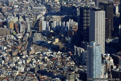 ザ・パークハウス 西新宿タワー60の空撮
