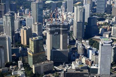 赤坂インターシティ AIRの空撮