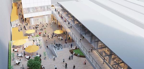 (仮称)新宿駅西口地区開発計画 イメージパース