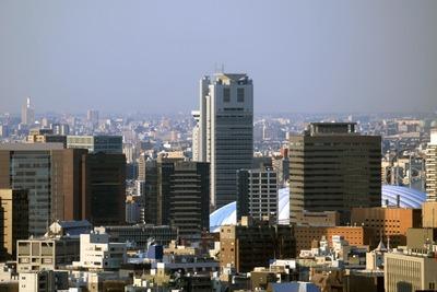 赤プリから東京ドーム方面の眺め
