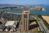福岡タワーからネクサスももちレジデンシャルタワー