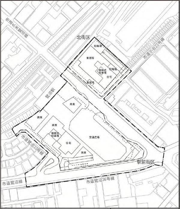 (仮称)鷺沼駅前地区第一種市街地再開発事業