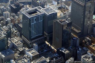 (仮称)新東京武田ビルの建設地の空撮