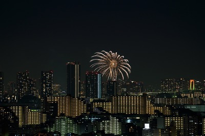 お台場レインボー花火2012