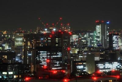 赤プリ36階から秋葉原・御茶ノ水方面の夜景