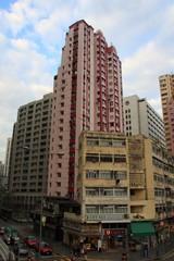 香港の古めのタワーマンション
