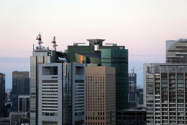 世界貿易センタービルから見た汐留