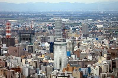 円山から札幌の眺め