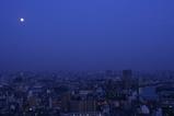 中秋の名月と夜景