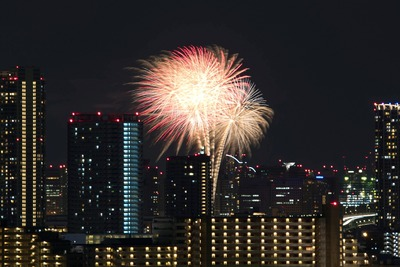 お台場レインボー花火2016