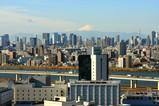 船堀駅前トキタワーからの眺め
