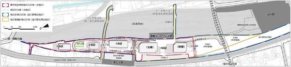 品川開発プロジェクト(第�期) 配置図
