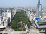 名古屋テレビ塔からの眺め