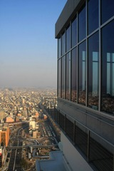 岐阜シティタワー43の展望室