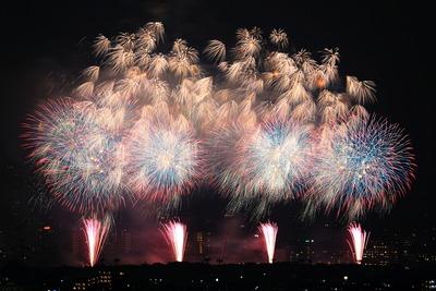 第43回江戸川区花火大会・第34回市川市民納涼花火大会