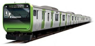 山手線の新型車両「E235系」外観イメージ
