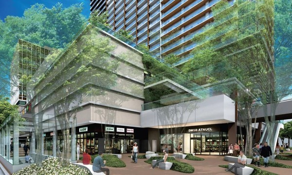 JR小岩駅北口地区第一種市街地再開発事業 完成予想図