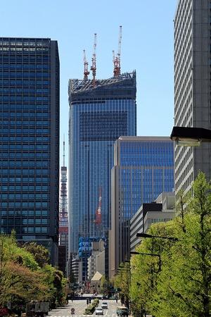 虎ノ門ヒルズ(環状二号線プロジェクト)と隙間東京タワー