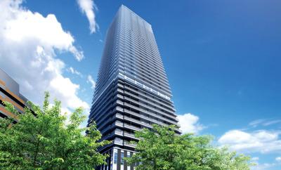 グランクロスタワー広島の完成予想図