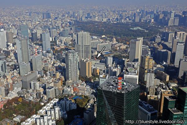 (仮称)赤坂二丁目計画の空撮
