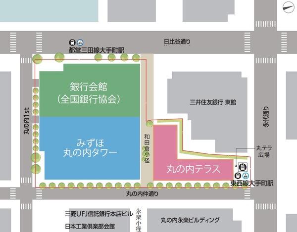 みずほ丸の内タワー 街区マップ