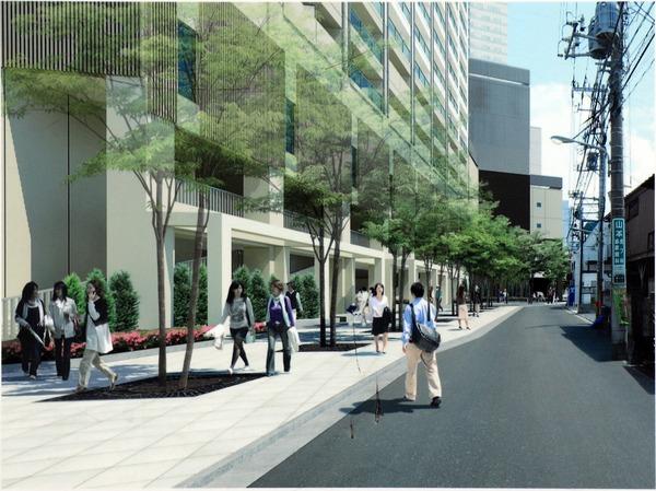 南小岩六丁目地区第一種再開発事業 区画道路