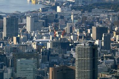 東京スカイツリーから見たブリリア ザ・タワー 東京八重洲アベニュー
