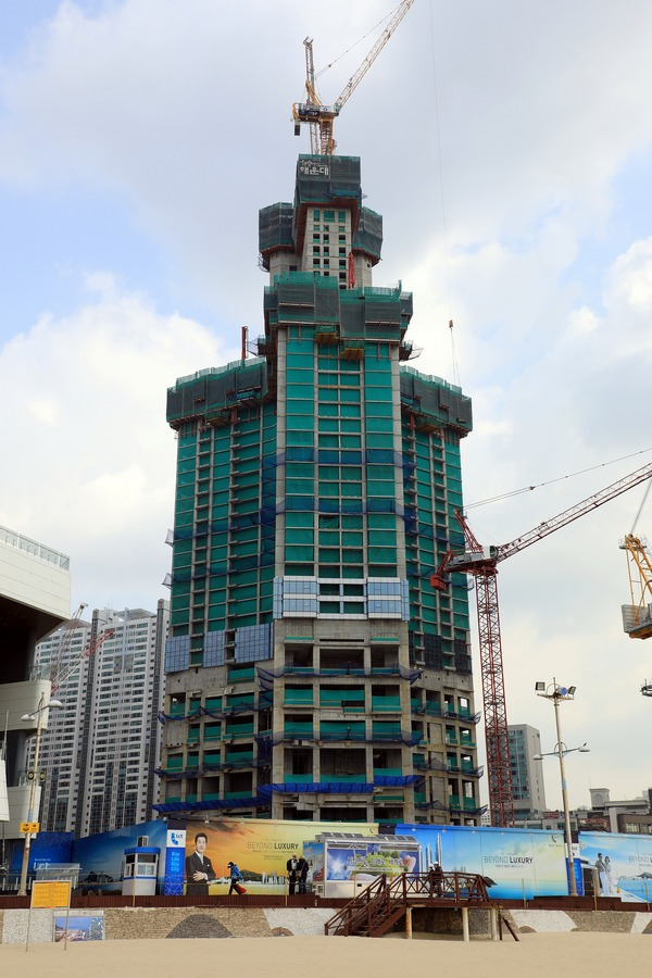 Haeundae LCT The Sharp Residential Tower B