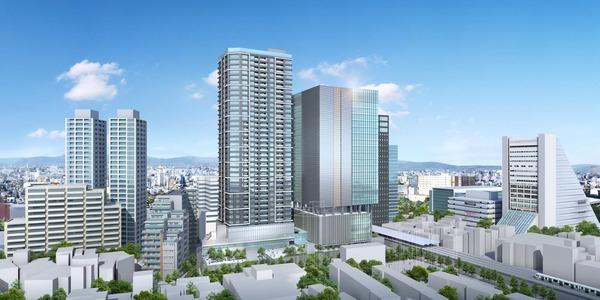中野二丁目地区第一種市街地再開発事業 イメージパース