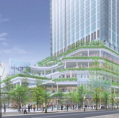 (仮称)竹芝地区開発計画建築計画(業務棟)新築工事