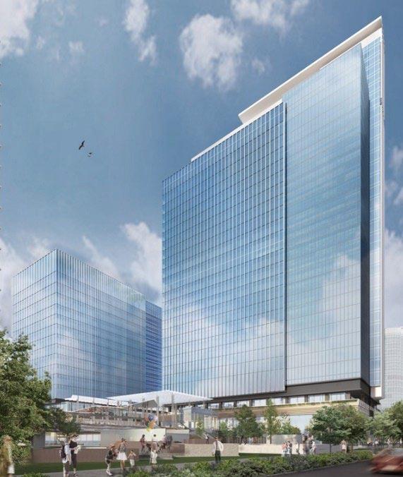 (仮称)みなとみらい21中央地区53街区開発事業 イメージパース
