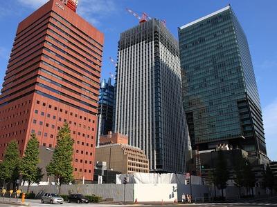 読売新聞東京本社ビル(2011年11月20日)